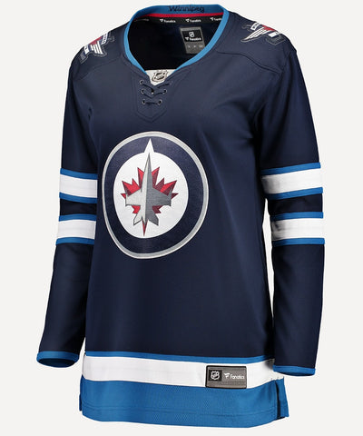 FANATICS WINNIPEG JETS WOMENS BREAKAWAY JERSEY