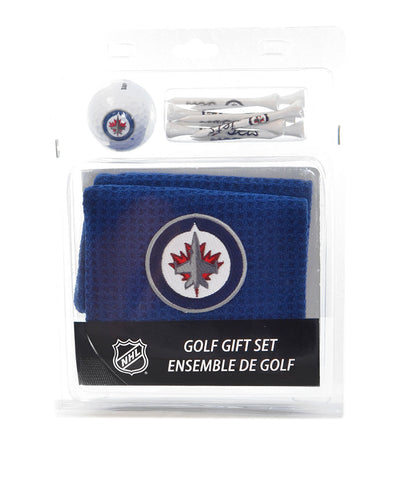 WINNIPEG JETS GOLF TOWEL BALL TEE PACK