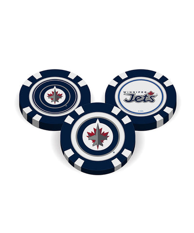 WINNIPEG JETS GOLF POKER CHIPS