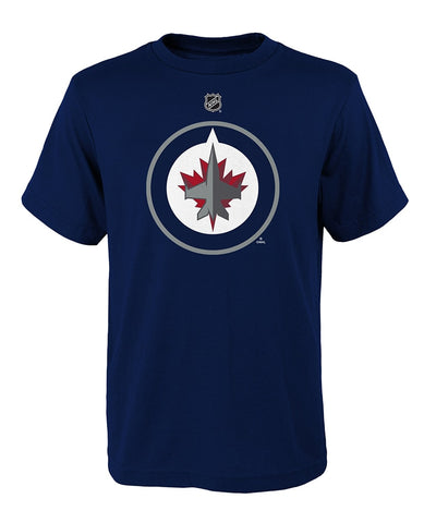 WINNIPEG JETS KID'S PRIMARY LOGO T SHIRT