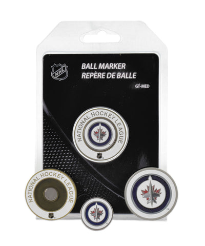 WINNIPEG JETS MEDALLION GOLF BALL MARKER