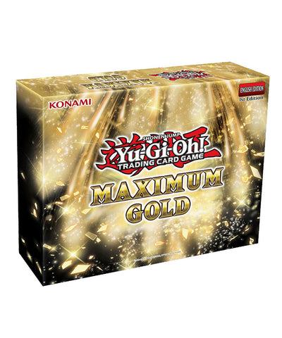 YU-GI-OH! CARDS: MAXIMUM GOLD BOX