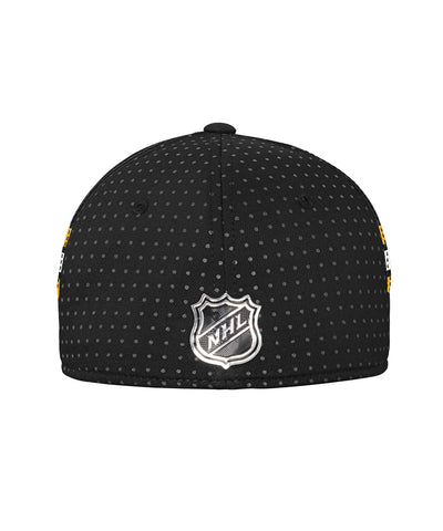 ADIDAS BOSTON BRUINS 2017 STRUCTURED FLEX MEN'S DRAFT HAT