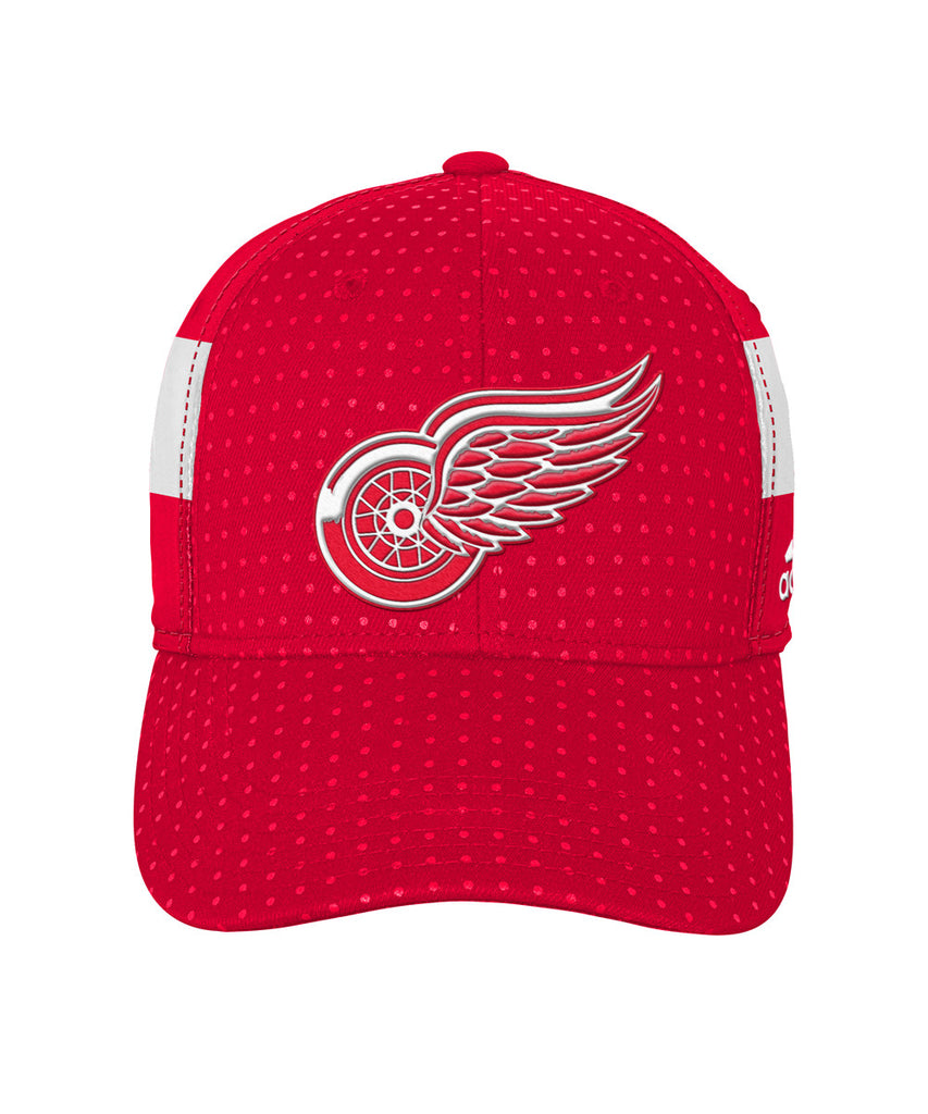 01ec163c ... order adidas detroit red wings 2017 structured flex boys draft hat  8d415 cc633