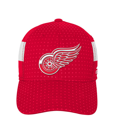 448ab9466f3 ADIDAS DETROIT RED WINGS 2017 STRUCTURED FLEX BOYS DRAFT HAT