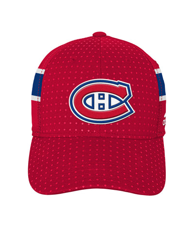 ADIDAS MONTREAL CANADIENS 2017 STRUCTURED FLEX BOYS DRAFT HAT