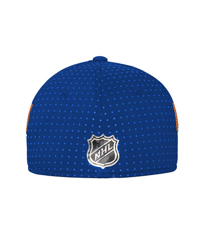 ADIDAS NEW YORK ISLANDERS 2017 STRUCTURED FLEX MEN'S DRAFT HAT