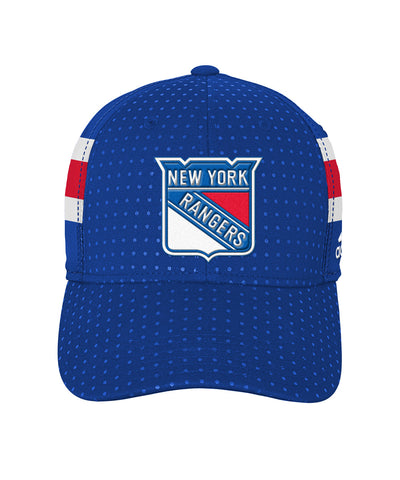 ADIDAS NEW YORK RANGERS 2017 STRUCTURED FLEX MEN'S DRAFT HAT