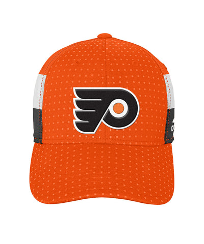 ADIDAS PHILADELPHIA FLYERS 2017 STRUCTURED FLEX BOYS DRAFT HAT