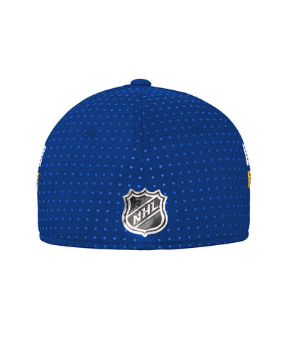 ADIDAS ST. LOUIS BLUES 2017 STRUCTURED FLEX MEN'S DRAFT HAT