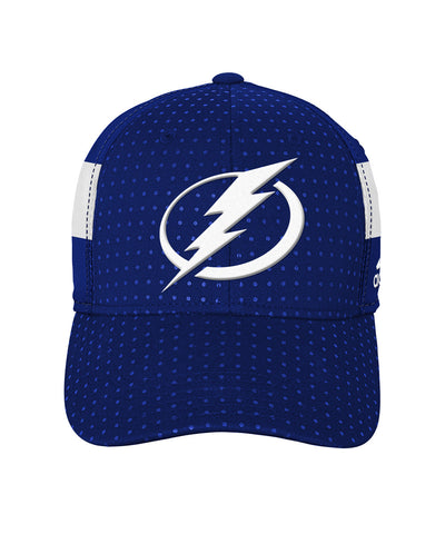 ADIDAS TAMPA BAY LIGHTNING 2017 STRUCTURED FLEX MEN'S DRAFT HAT