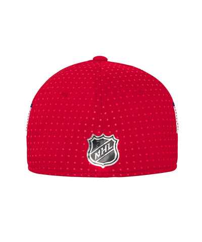 ADIDAS WASHINGTON CAPITALS 2017 STRUCTURED FLEX MEN'S DRAFT HAT