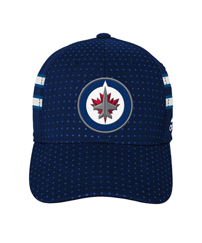 ADIDAS WINNIPEG JETS 2017 STRUCTURED FLEX BOYS DRAFT HAT
