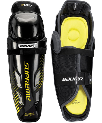 BAUER SUPREME S150 SENIOR SHIN GUARDS