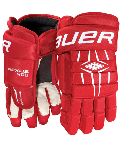 BAUER NEXUS 400 SR HOCKEY GLOVES