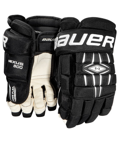 BAUER NEXUS 800 SENIOR HOCKEY GLOVES