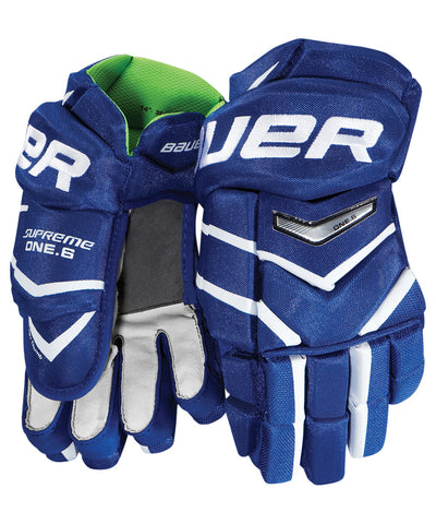 BAUER SUPREME ONE.6 SR HOCKEY GLOVES