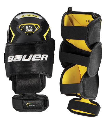 BAUER SUPREME JR GOALIE KNEE GUARD