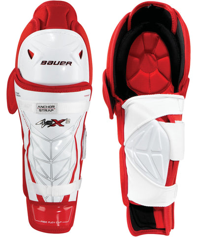 BAUER VAPOR APX2 JUNIOR HOCKEY SHIN GUARDS
