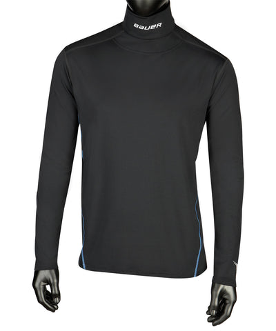 BAUER NG CORE NECKPROTECT JR LS SHIRT