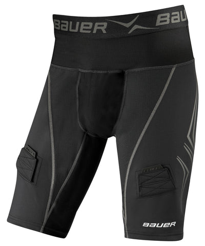 BAUER NG PREMIUM LOCKJOCK SR HOCKEY SHORTS