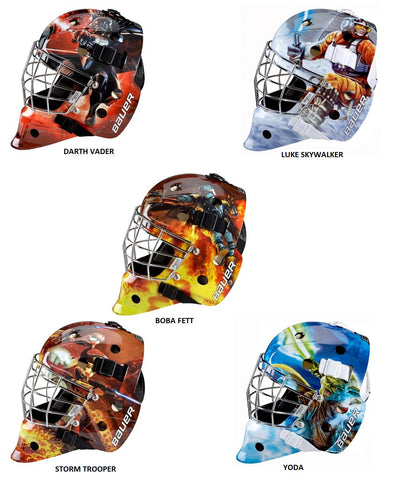 BAUER NME 3 STAR WARS YTH GOALIE MASK
