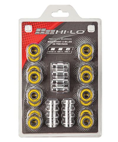 HI-LO ABEC9 608 BEARINGS ROLLER HOCKEY SKATES