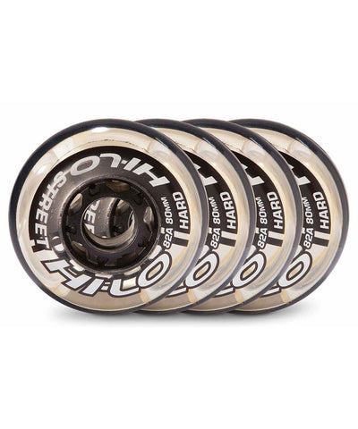 HI-LO STREET 4 PACK ROLLER HOCKEY SKATE WHEELS