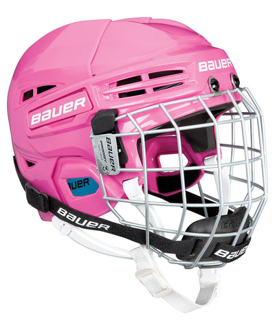 BAUER PRODIGY YOUTH COMBO HOCKEY HELMET