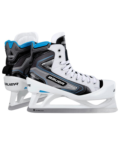 BAUER REACTOR 5000 JR GOALIE SKATES