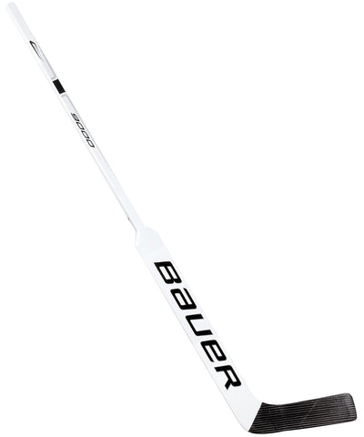 BAUER REACTOR 9000 INTERMEDIATE GOALIE STICK - WHT/BLK