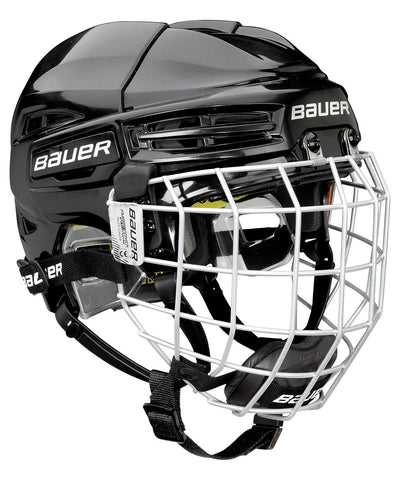 BAUER RE-AKT 100 YTH COMBO HOCKEY HELMET