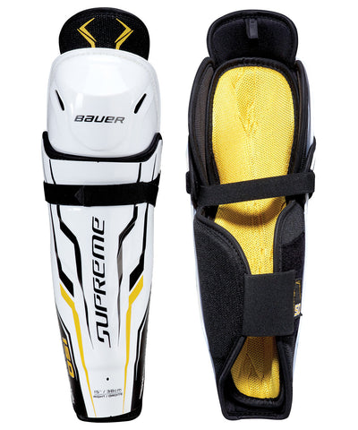BAUER SUPREME 150 SR HOCKEY SHIN GUARDS