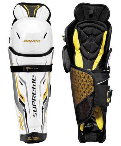 BAUER SUPREME 190 SENIOR HOCKEY SHIN GUARDS