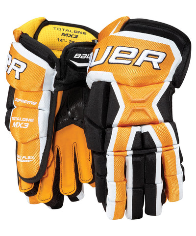 BAUER SUPREME TOTALONE MX3 SR HOCKEY GLOVES