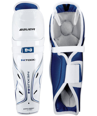 BAUER NEXUS N7000 SR HOCKEY SHIN GUARDS