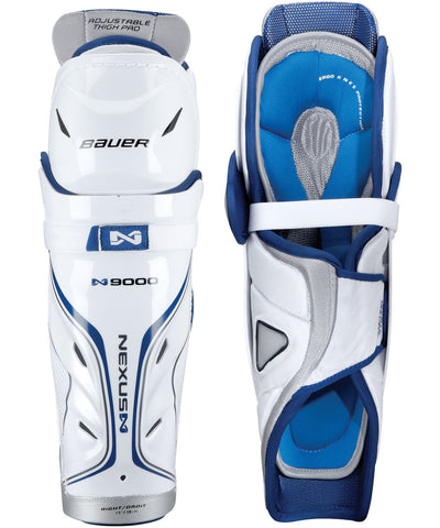 BAUER NEXUS N9000 SR HOCKEY SHIN GUARDS