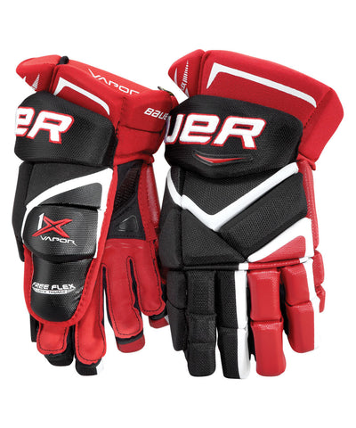 BAUER VAPOR 1X JR HOCKEY GLOVES