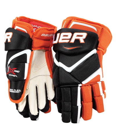 BAUER VAPOR 1X PRO SENIOR HOCKEY GLOVES