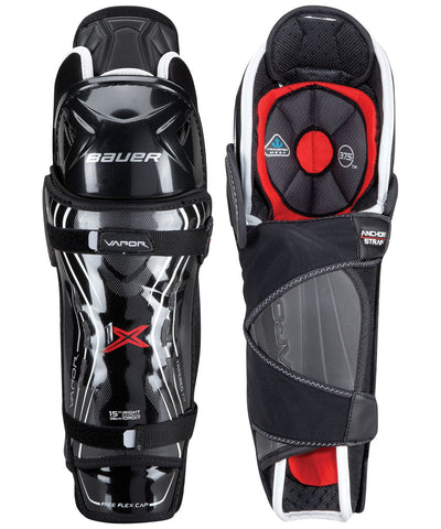 BAUER VAPOR 1X SR HOCKEY SHIN GUARDS