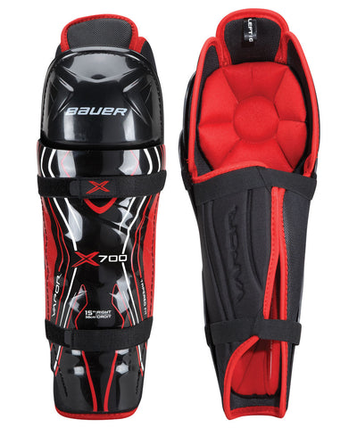 BAUER VAPOR X700 SR HOCKEY SHIN GUARDS