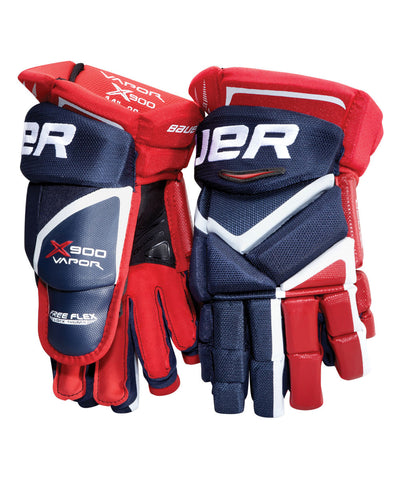 BAUER VAPOR X900 JR HOCKEY GLOVES