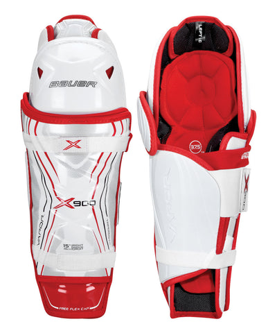 BAUER VAPOR X900 JR HOCKEY SHIN GUARDS