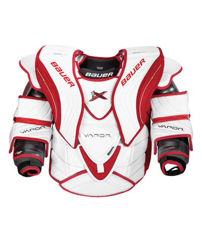 BAUER VAPOR 1X INTERMEDIATE GOALIE CHEST PROTECTOR