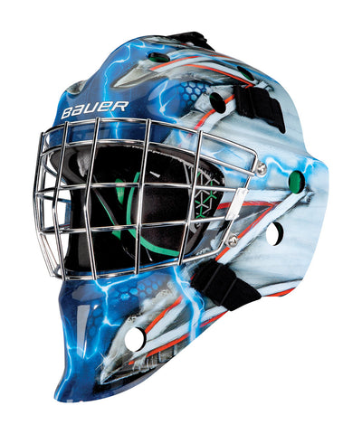 BAUER NME 4 JUNIOR GOALIE MASK KING NYR