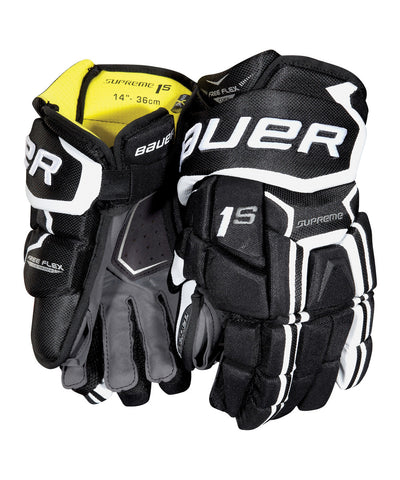 BAUER SUPREME 1S JR HOCKEY GLOVES