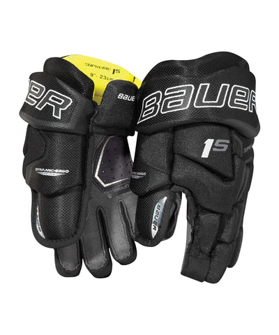 BAUER SUPREME 1S YTH HOCKEY GLOVES