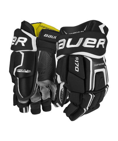 BAUER SUPREME S170 JUNIOR HOCKEY GLOVES