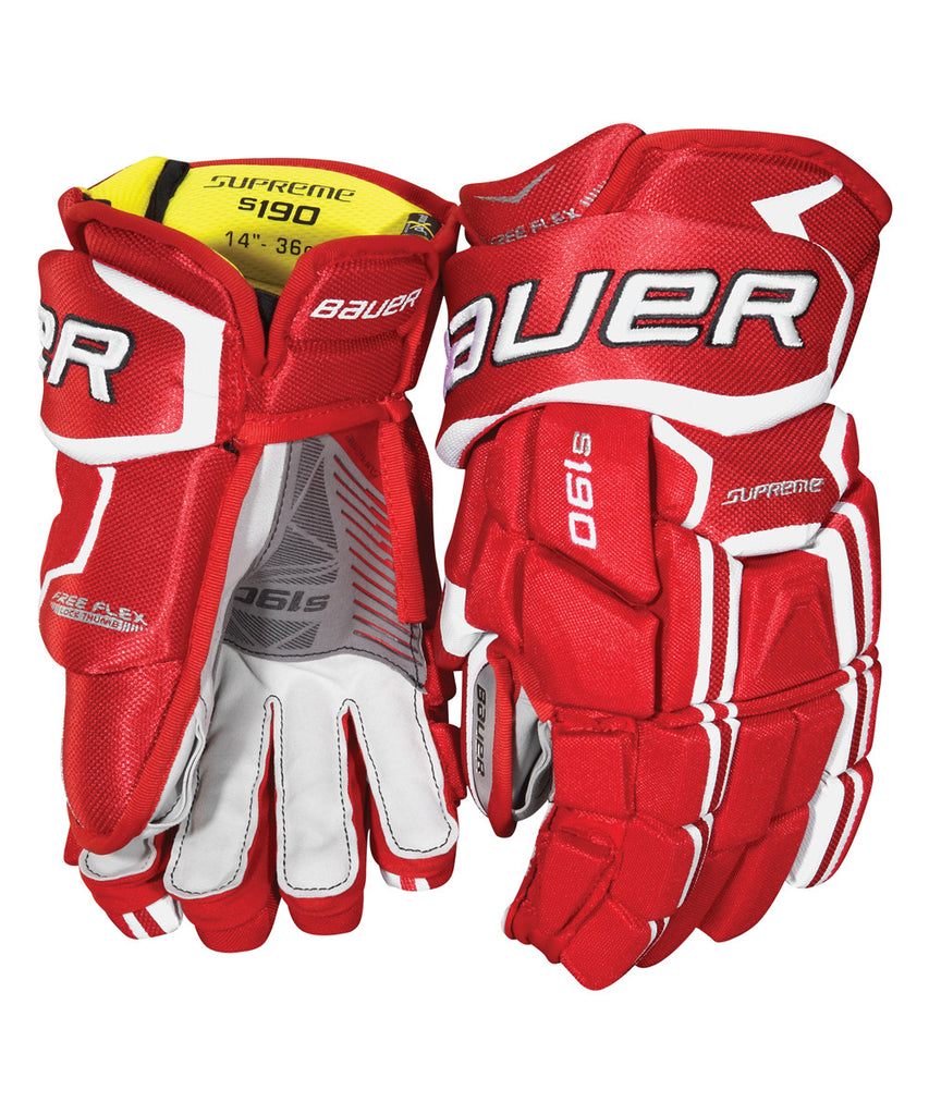 fa05fec21e0 BAUER SUPREME S190 JR HOCKEY GLOVES – Pro Hockey Life