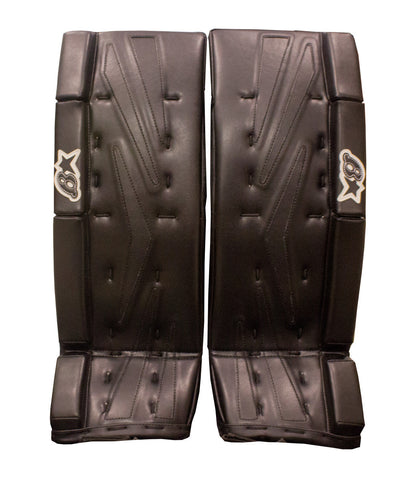 BRIANS NETZERO BLACK SR GOALIE PADS